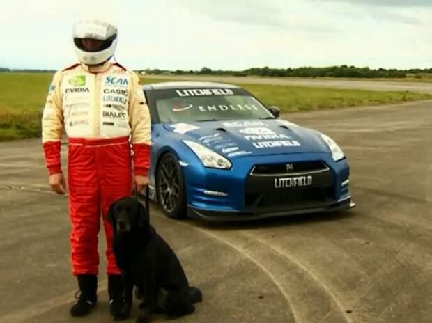Слепой банкир из Великобритании побил собственный рекорд скорости