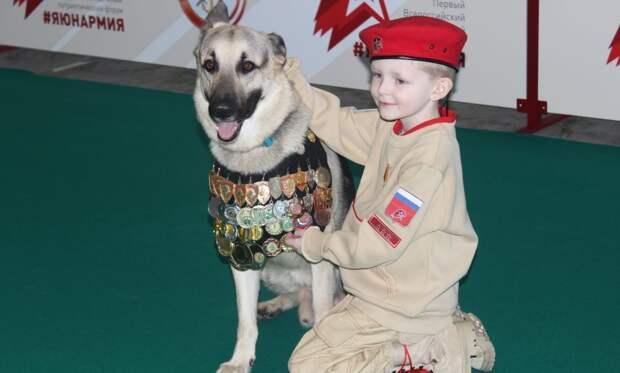 Дети занимаются в клубе с 8 лет/из архива Центрального клуба служебного собаководства ДОСААФ России