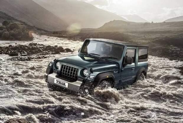 Jeep подал в суд на компанию, выпустившую клона Wrangler