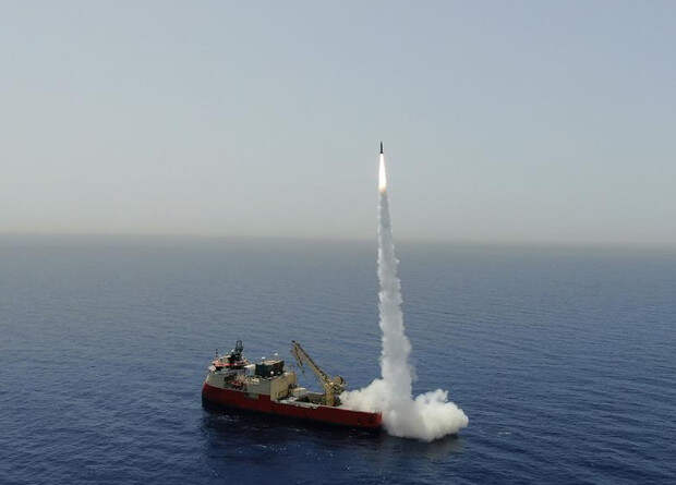 Израильтяне испытали тактическую баллистическую ракету
