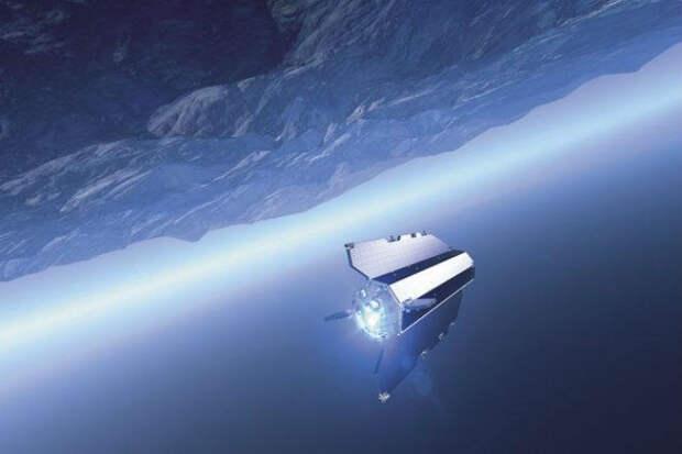 Спутник гравитационной картографии GOCE