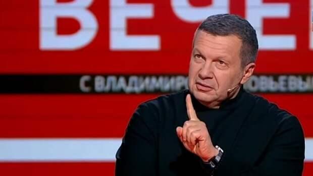 """Соловьев раскритиковал Собчак за пост о параде Победы, назвав ее """"недостойным созданием"""""""