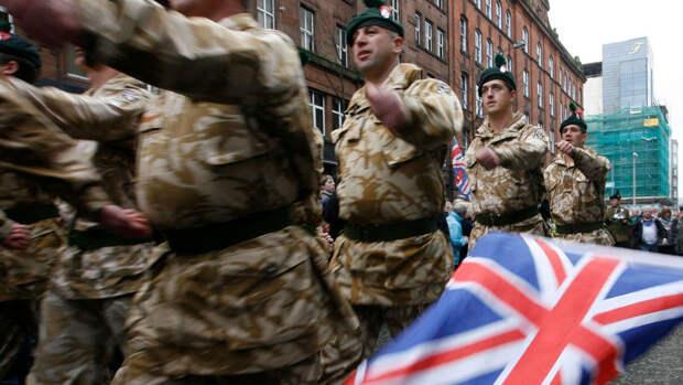 Британские солдаты подрались с жителями эстонского города