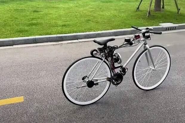 Китайский инженер создал велосипед, который ездит самостоятельно