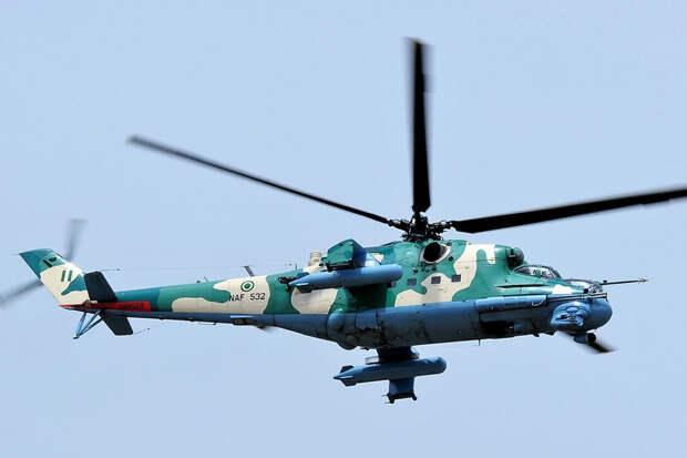 Чем вооружены боевые вертолеты Ми-24В и Ми-35М ВВС Нигерии