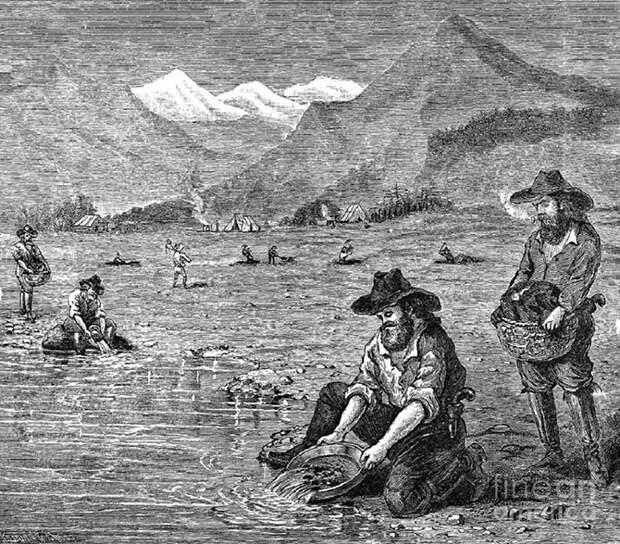 Калифорнийская золотая лихорадка