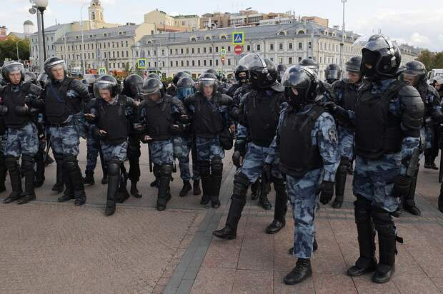 В ГУВД предостерегли либералов от организации шествия 10 августа