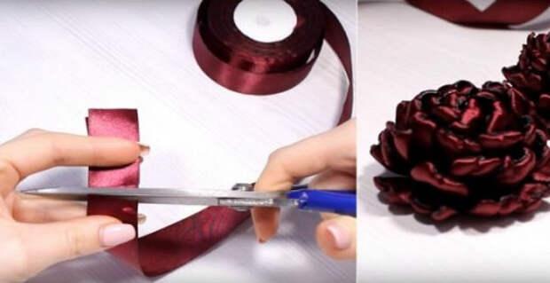 Умелая мастерица творит потрясающие изделия из атласных лент!
