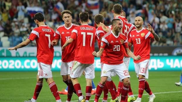 Сборная России объявила состав на матч против Бельгии