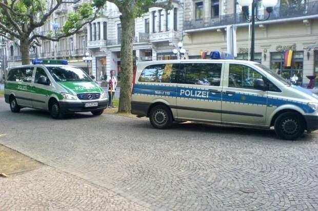 240 человек задержали в Берлине на первомайской демонстрации