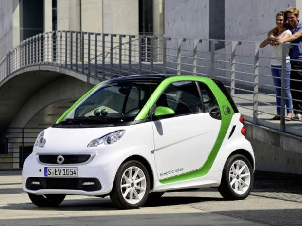 Smart fortwo electric drive: сон электрика