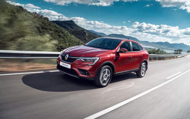 Renault Arkana: цены начинаются с 999 тысяч