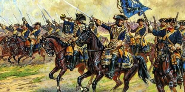 С развитием системы военной подготовки линии кавалеристов становились только длиннее и прямее. /Фото: ya.ru.