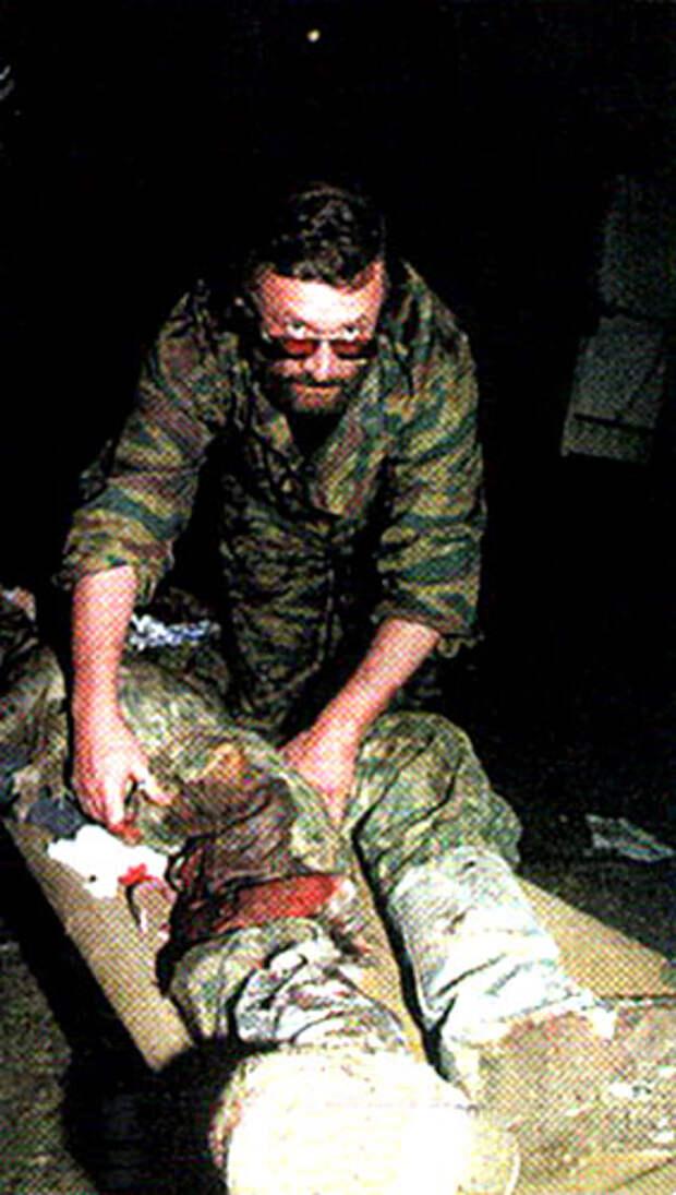 Дневник военного фельдшера: Боль и раны Чечни