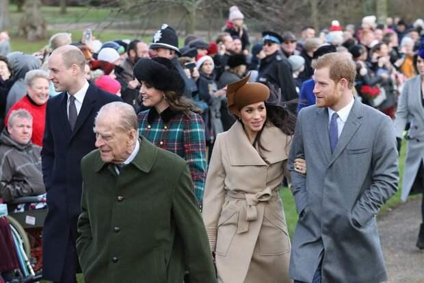 Кого больше любил принц Филипп: Кейт Миддлтон или Меган Маркл
