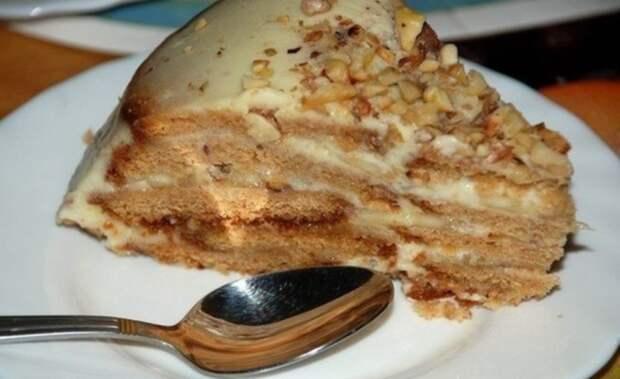"""Холодный торт """"Песочный рай"""". Быстро и вкусно."""