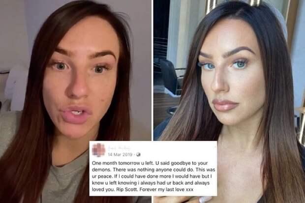 Австралийка сообщила о смерти своего мужа, чтобы отвадить от него любовницу