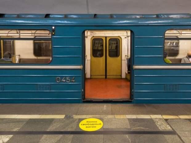 На Замоскворецкой линии метро произошел сбой