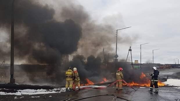 Тысячи тонн дизеля попали вводоемы Норильска