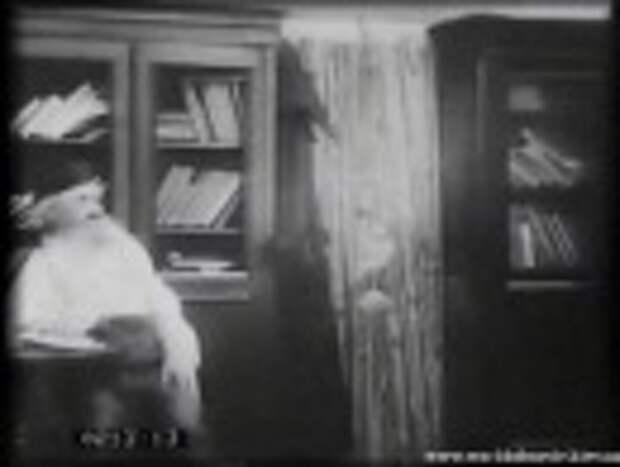 """""""Уход великого старца""""  Скандальный фильм о Л.Н Толстом 1912 года."""