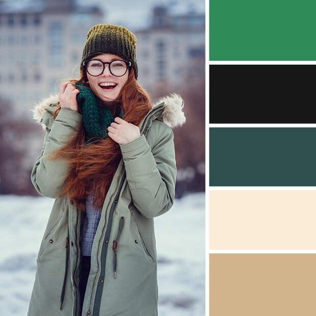 10цветовых сочетаний, которые помогут правильно комбинировать зимний гардероб