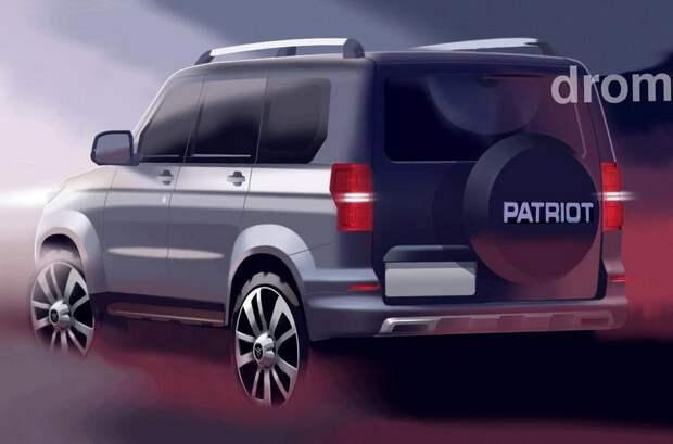 «Русский Прадо» от УАЗа: рассекречена внешность, шасси и гамма двигателей