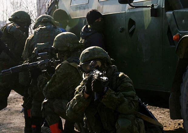 С подразделениями антитеррора ВВО в Забайкалье состоялась тренировка по блокированию и уничтожению условных террористов