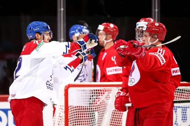 Тренер сборной Чехии высказался об игре своих подопечных в матче против России на ЧМ
