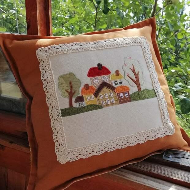 Лоскутные подушки. Идеи для вдохновения