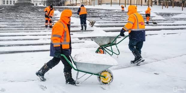 Ваша дворовая территория почищена от снега? — новый опрос