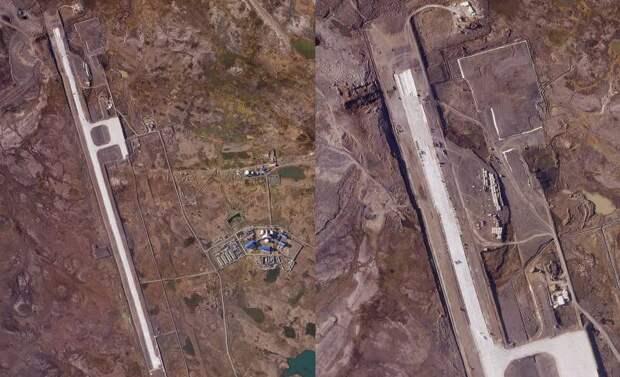 The Drive: Снимки показывают, что база РФ в Арктике скоро сможет принимать бомбардировщики
