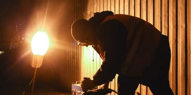 На стройплощадку жилого комплекса на Малыгина провели временное электроснабжение