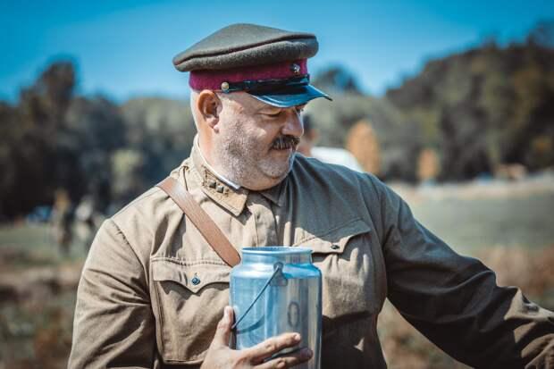 Реконструкторы Великой Отечественной Войны из Чикаго