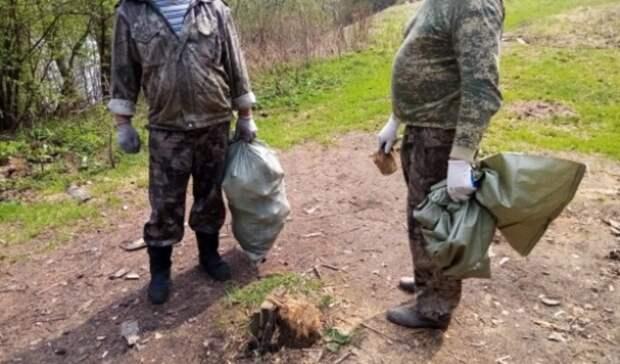 Более 150 метров браконьерских сетей извлекли изреки Чусовая