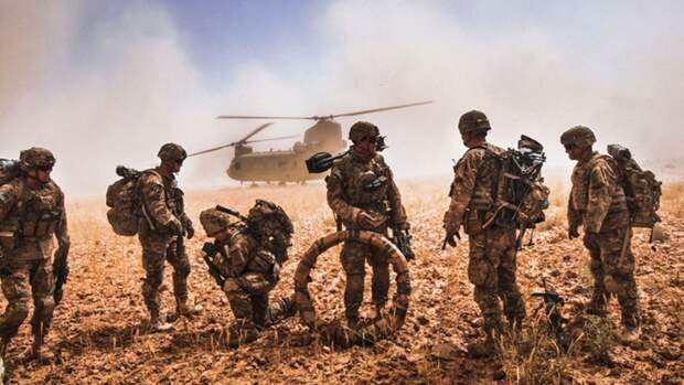 В США объяснили, где в Афганистане останутся американские военные после вывода войск