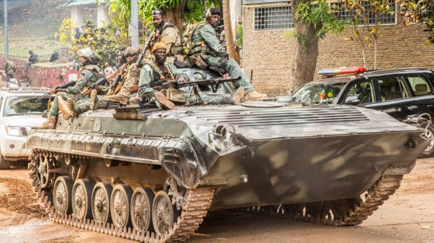 Центральноафриканцы организуют марш в поддержку отмены эмбарго ООН на поставки оружия