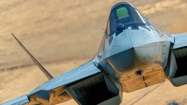 """В США пары из истребителя Су-57 и дронов """"Охотник"""" назвали новой проблемой НАТО"""