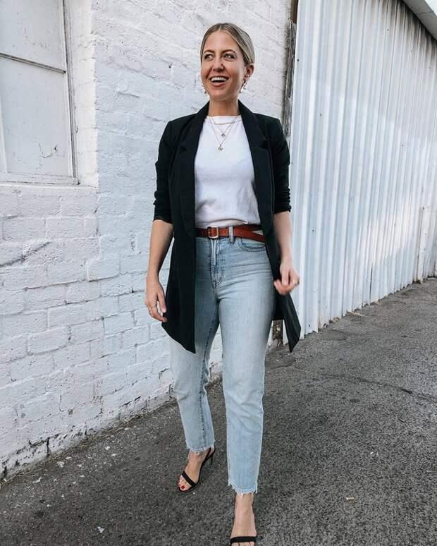 Какие джинсы носить возрастным женщинам? /Фото: imgirl.ru