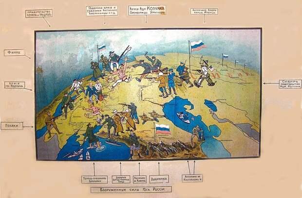 Битва с внешним врагом в годы Гражданской войны