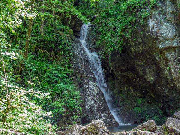 Сандиков - водопад ручья Сухая балка.