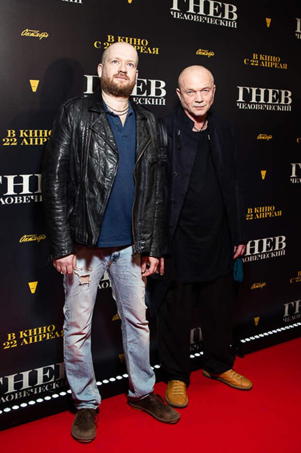 Андрей Смоляков с сыном