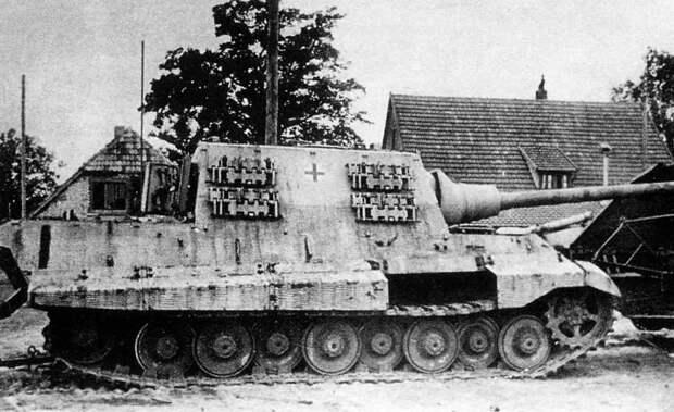 Бронетанковая техника Германии во Второй мировой войне. Истребитель танков «Jagdtiger»