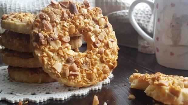 Песочные кольца с орехами. Любимое печенье, родом из детства