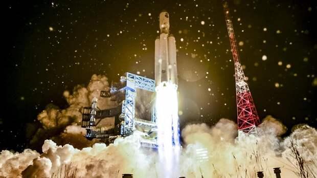 """Запуск тяжелой ракеты-носителя """"Ангара-5"""""""
