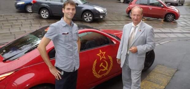 Пять автомобилей пламенного коммуниста Рашкина