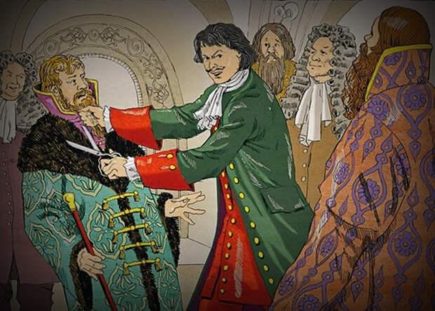 Странные забавы Петра Великого от которых не было пощады ни дворянам, ни холопам