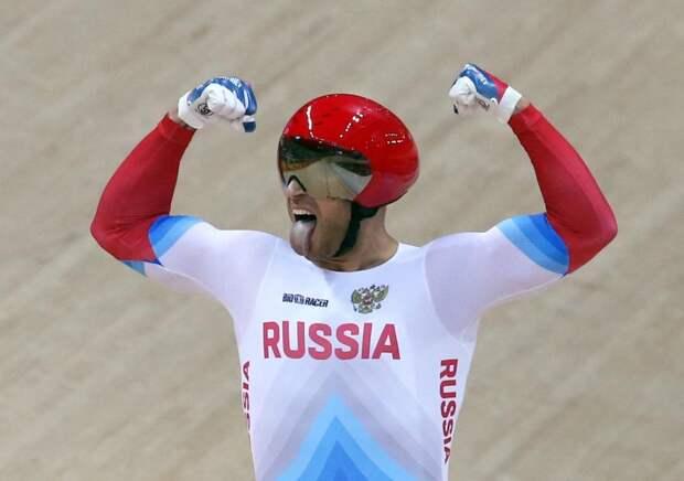 Велогонщик Денис Дмитриев