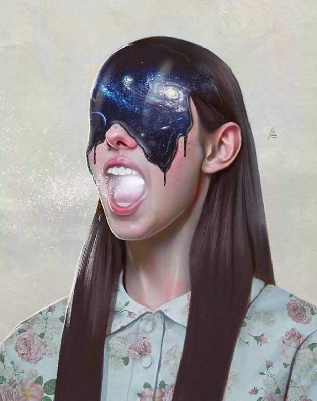 Чувственные иллюстрации оженщинах Айката Айдоглу