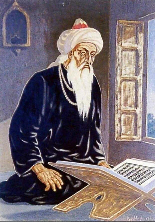 Ибн Аль-Асир. Очень интересный человек, обязательно о нем напишу) (Иллюстрация из открытых источников)