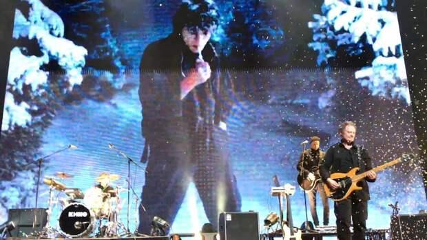 Группа «Кино» с голосом Виктора Цоя дала концерты в Москве
